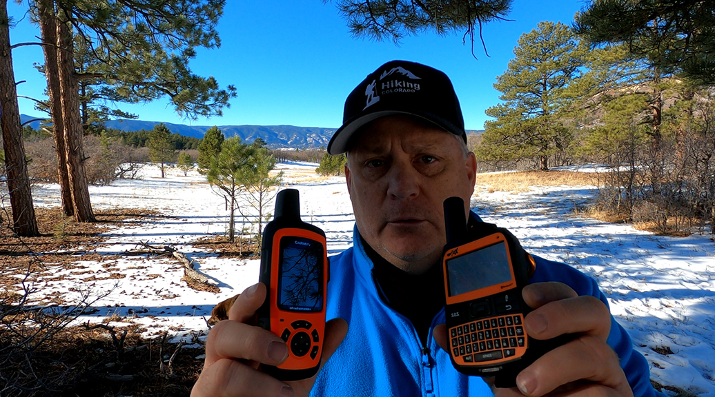 Garmin inReach Explorer vs SPOT X