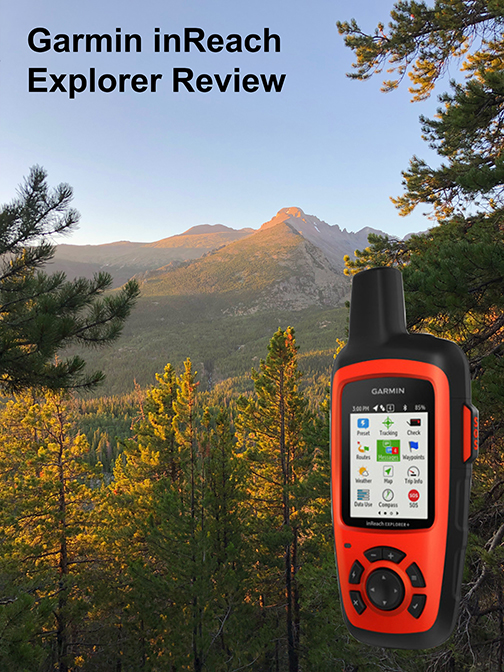 Garmin inReach Explorer Review