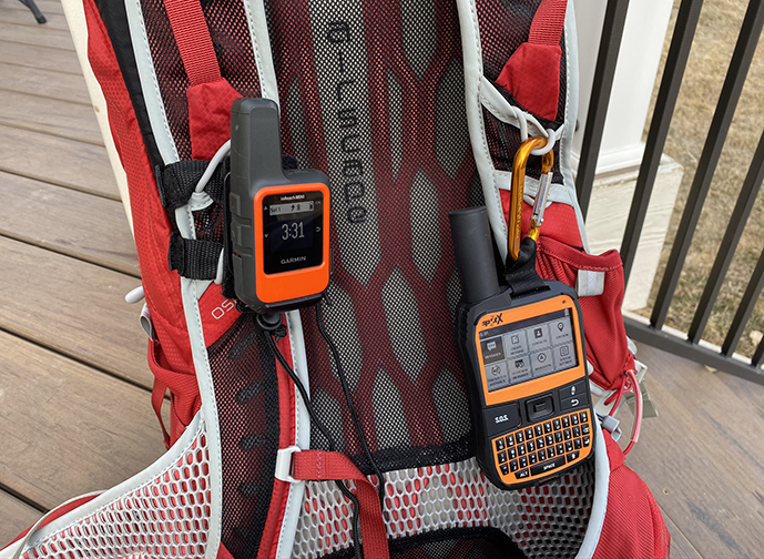 Garmin inReach Mini Messaging