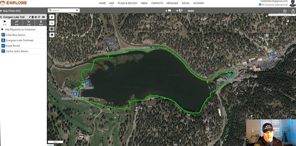 Garmin Earthmate Route & Waypoint