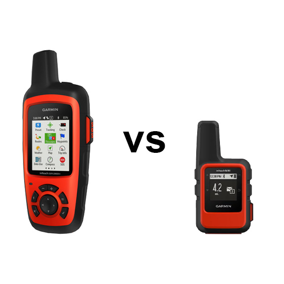 Garmin inReach Explorer vs Mini