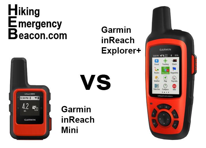 Garmin inReach Mini vs Explorer