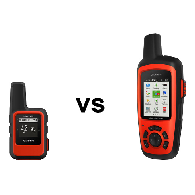 Garmin inReach Mini vs Explorer