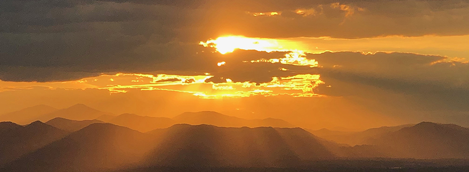 Colorado Rocky Sunset