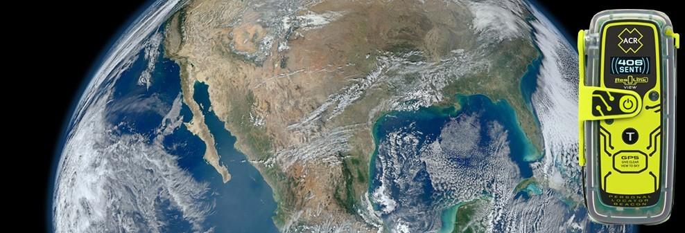 ACR ResQlink View Global Satellite Coverage