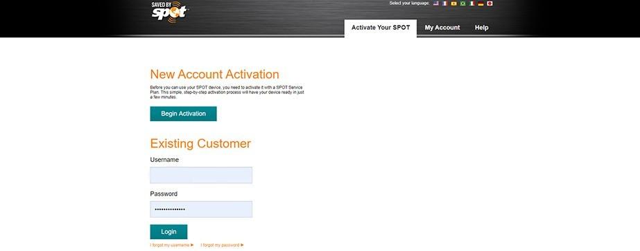 FindMESPOT.com/Activation