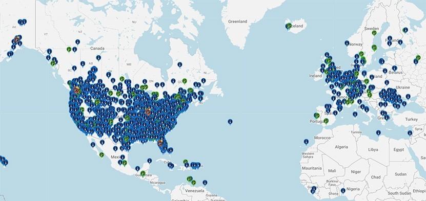 GoTenna Network Map